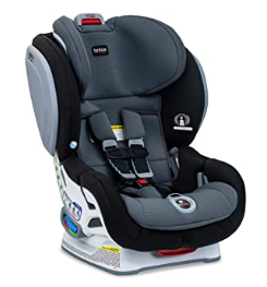 Britax Advocate ClickTight convertible car seat with 3 layer impact protection