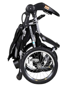 baby trend expedition jogger travel system review folded position
